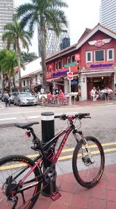 Busorah street dgn cafe2nya