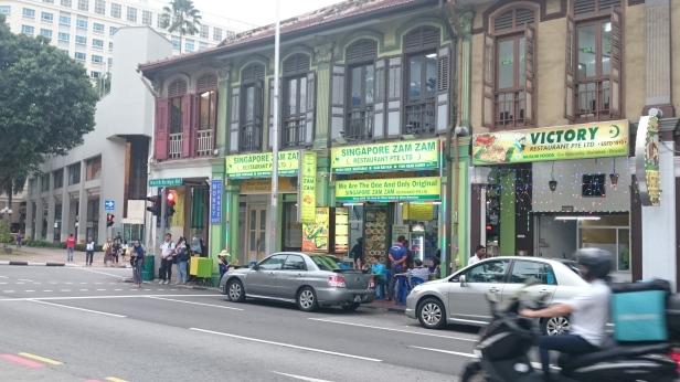 Restoran zam zam. Bangunannya sendiri sudah terlihat antik