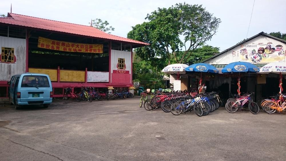 Segala merek dan tipe sepeda ada di sewakan disini.